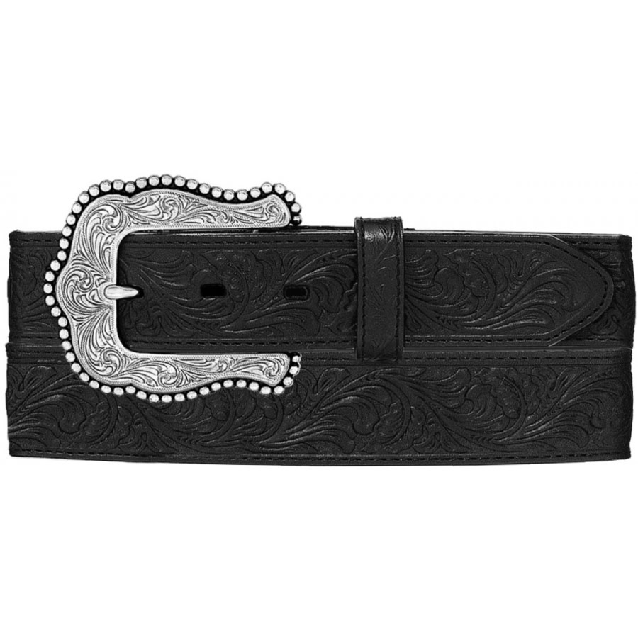 Tony Lama Belts Adult Tony Lama Layla Belt - Black
