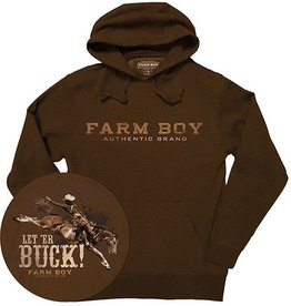 Farm Boy Farm Boy LET 'ER Buck Hoodie (Reg $39.95 now $10 OFF!)