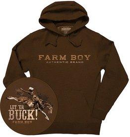 Farm Boy Farm Boy Let'er Buck Hoodie