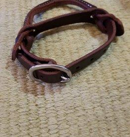 Circle L Night Latch, Leather w/Buckle - Dark or Light Oil
