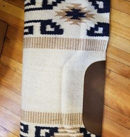"Lamprey Cutter Wool Top Western Pad 33""D X 36""L"