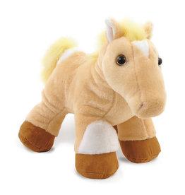 Tan Pinto Pony