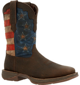Durango Men's Durango Rebel Vintage Flag Western Boot
