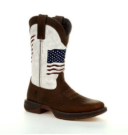 Durango Women's Durango Lady Rebel Distressed Flag Embroidery Western Boot