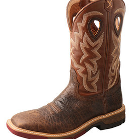 Twisted X Men's Twisted X 12″ Alloy Toe Western Work Boot with CellStretch