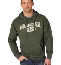 "Wrangler Men's Wrangler Western Hoodie ""1947"" Army Heather"