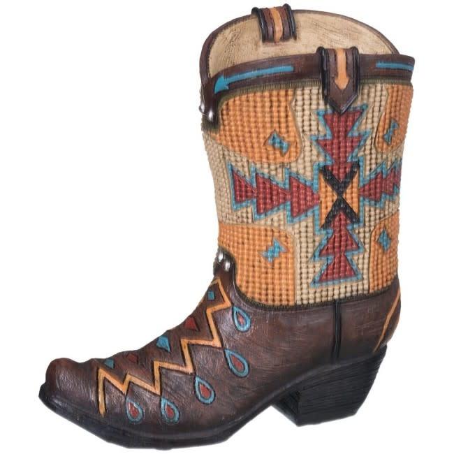 Tough-1 Bank - Aztec Cowboy Boot