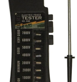 Eight Light Electric Fence Tester