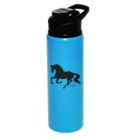 AWST Water Bottle - Aluminum, Galloping Horse, Sports Bottle - 25oz