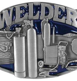 WEX Belt Buckle - Welder Enamel