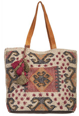 Scully Leather Handbag - Scully Woven Bag