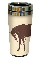 Travel Mug - Home Is Where..., with Horses - 16 oz