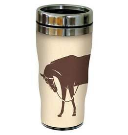 GT Reid Travel Mug - Home Is Where..., with Horses - 16 oz