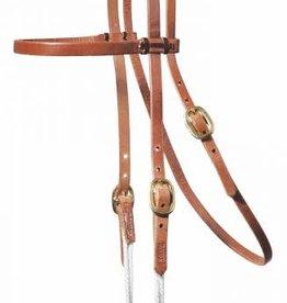 Easy-Change Rope Cheek Headstall