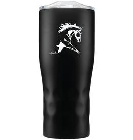 """AWST Tumbler - Stainless Steel """"Lila"""" Horse"""