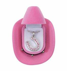 AWST Necklace - Horseshoe with Stones