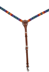 Circle Y Circle Y Infinity Wrap Beaded Breast Collar Sunset
