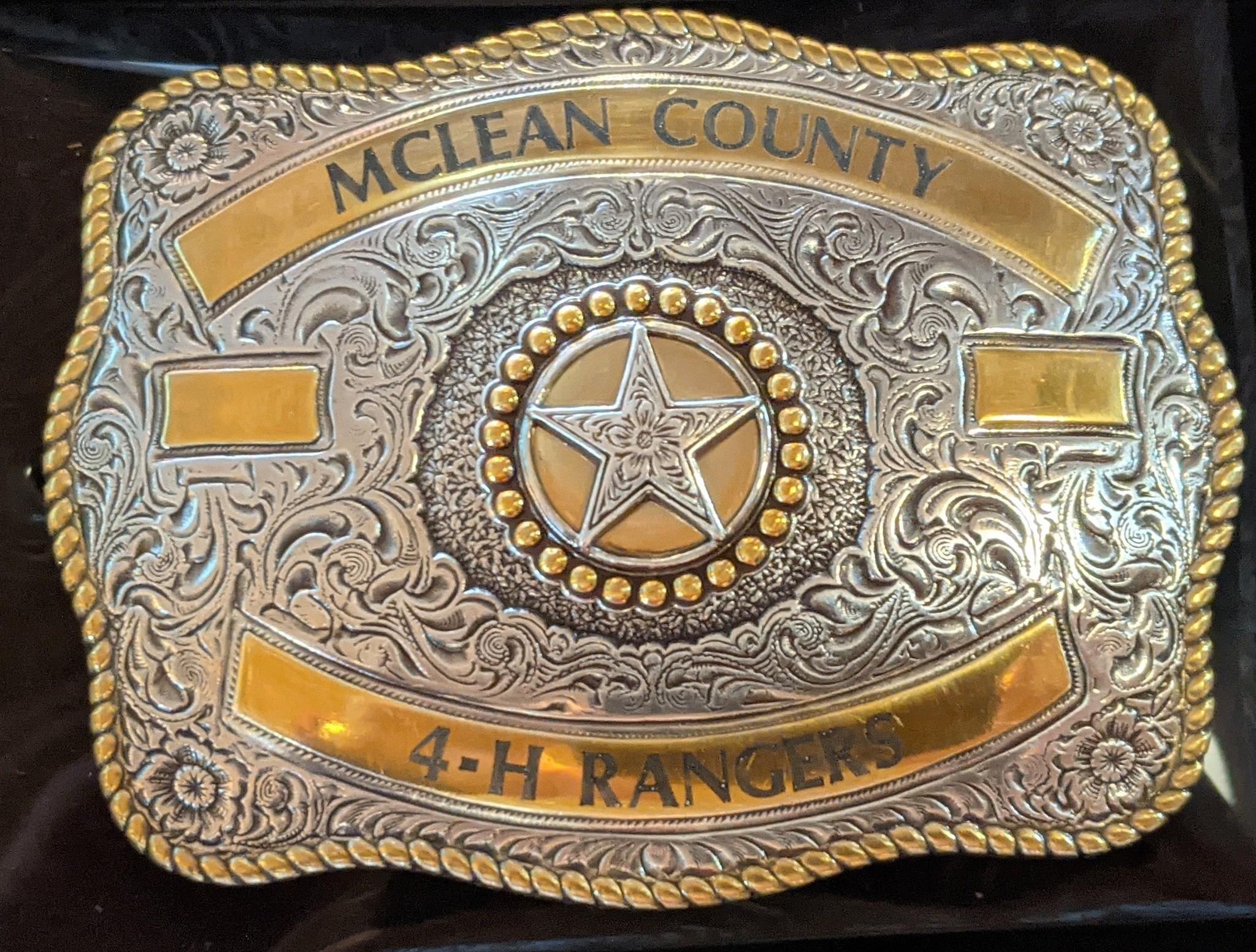 Belt Buckle - Custom Engraved Trophy Buckles