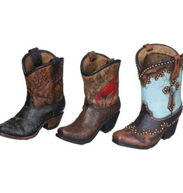 Tough-1 Western Boot Figurines