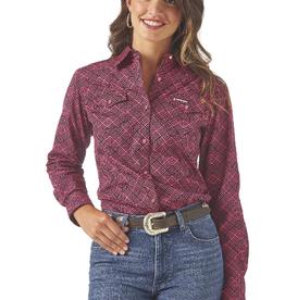 Wrangler Women's Wrangler Tuff Enough to Wear Pink Shirt