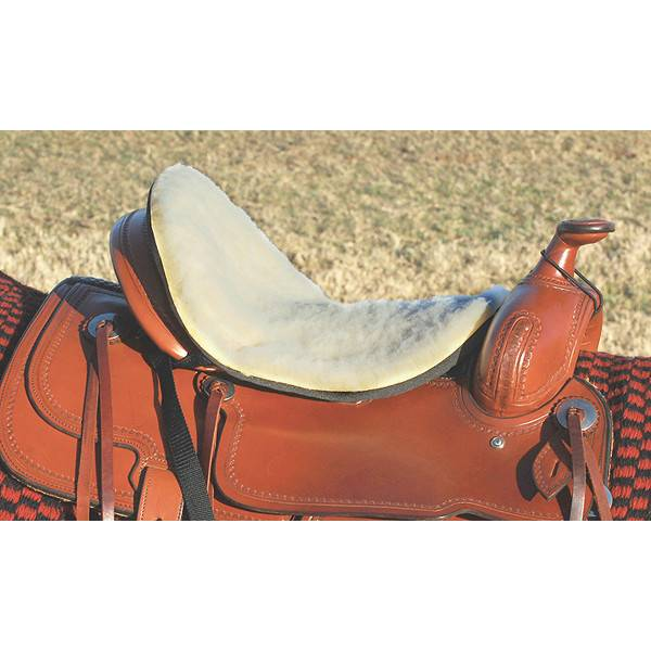 Cashel Western Large Fleece Tush Cushion