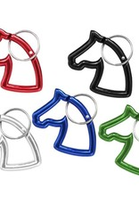 Tough-1 Key Chain - Horsehead Carbiner - Assort