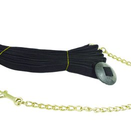 "Partrade 25' Lunge Line with 20"" Chain"