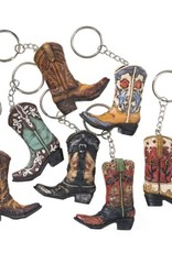 Tough-1 Key Chain - Cowboy Boots - Assorted Styles