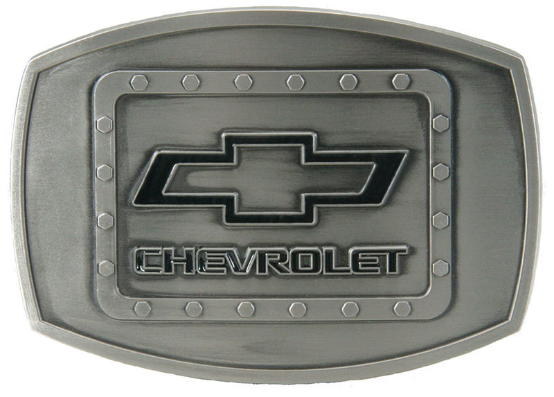 WEX Belt Buckle - Chevy Riveted