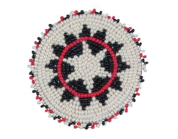 Alamo Alamo Beaded Conchos w/ Screw Back