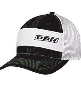 PBR PBR Black & White Ball Cap