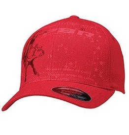 PBR PBR Red Flex Fit Ballcap Small/Medium