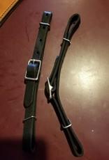 Circle L Curb Strap - Circle L Leather, Horse - Black
