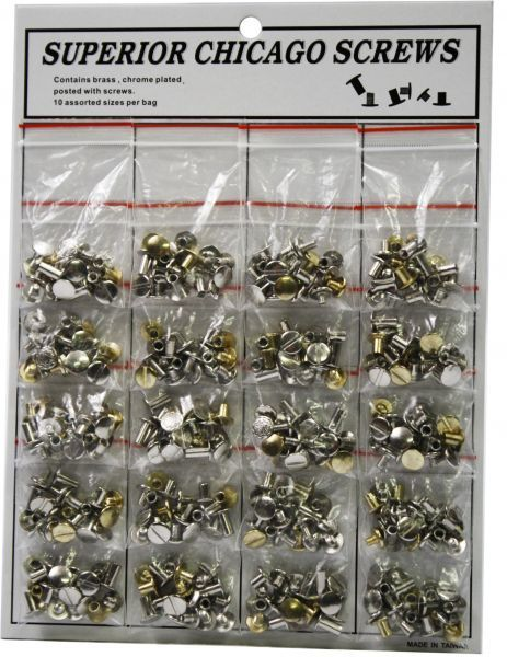 Chicago Screws - Assorted
