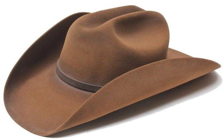 d004d9ce Stetson Boss of the Plains Western Felt 6x - Weathered Look - Gass ...