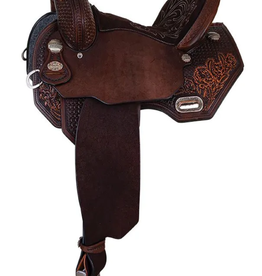 Circle Y Circle Y Sarah Rose Vintage Rose Barrel Saddle