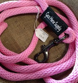 Triple E 9' Braided Poly Rope Lead with Gass Horse Supply Embroidered