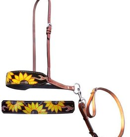 Showman Showman Hand Painted Tie Down - Sunflowers