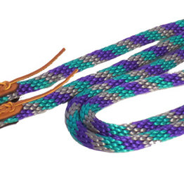 Triple E Nylon 7' Rope Game Reins w/ Snaps