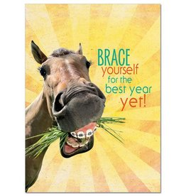 "GT Reid Card - ""Brace Yourself"" Birthday"