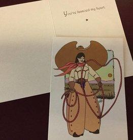Wyo-Horse Card - Heart Roper