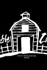 "Decal - ""Stable Life"" Barn"