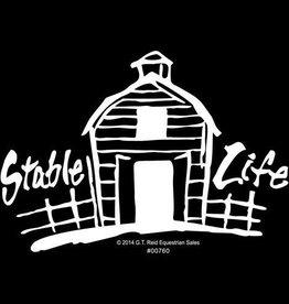 GT Reid Decal - White Vinyl Stable Life