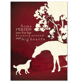 """Card - """"Some Friends..."""" Tree Free Greeting"""