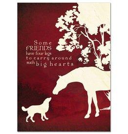 "GT Reid Card - ""Some Friends..."" Tree Free Greeting"