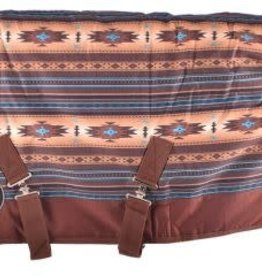 "Showman Showman Pony/Yearling Blanket - 56""-62"" Southwest Print"