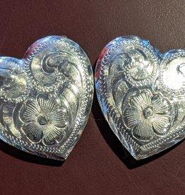Lamprey Silver Heart Concho