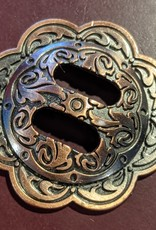 """1.5"""" Concho - Slotted Antique Copper"""