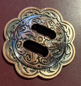"1.5"" Concho - Slotted Antique Copper"