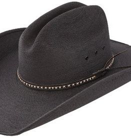 Resistol Jason Aldean Palm Leaf Cowboy Hat - Asphalt